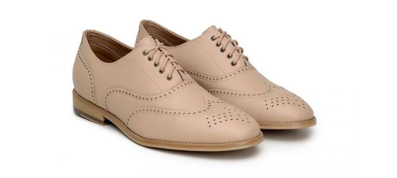 Ahimsa vegan Oxford shoes women