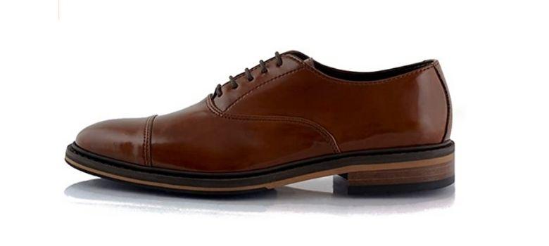 Bourgeois Boheme vegan Oxford shoes men